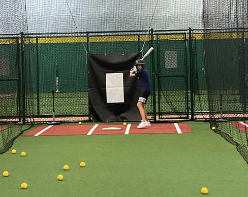 Indoor Token Operated Baseball & Softball Batting Cages | Extra Innings Middleton, MA